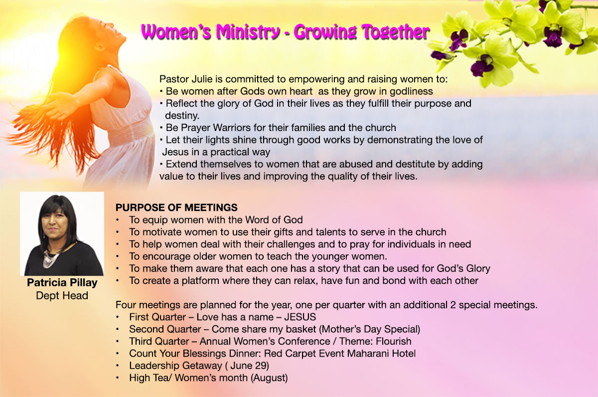 womans ministry small